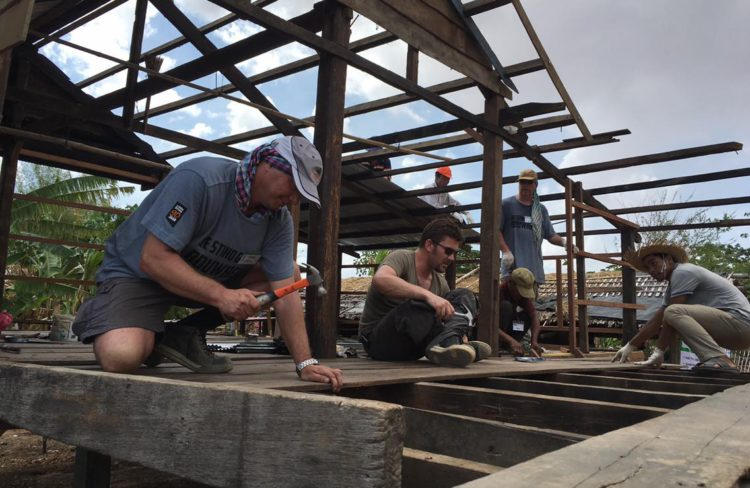 More Than 200 Dutch Volunteers From Stiho Built Strength, Stability, Self-reliance And Shelter With Cambodian Families
