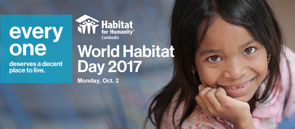 World Habitat Day 2017