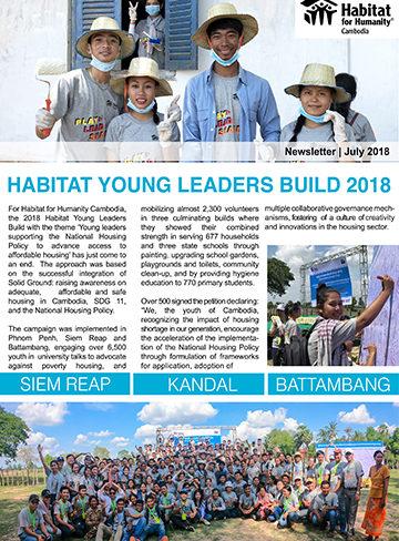 Habitat Cambodia Newsletter – July 2018