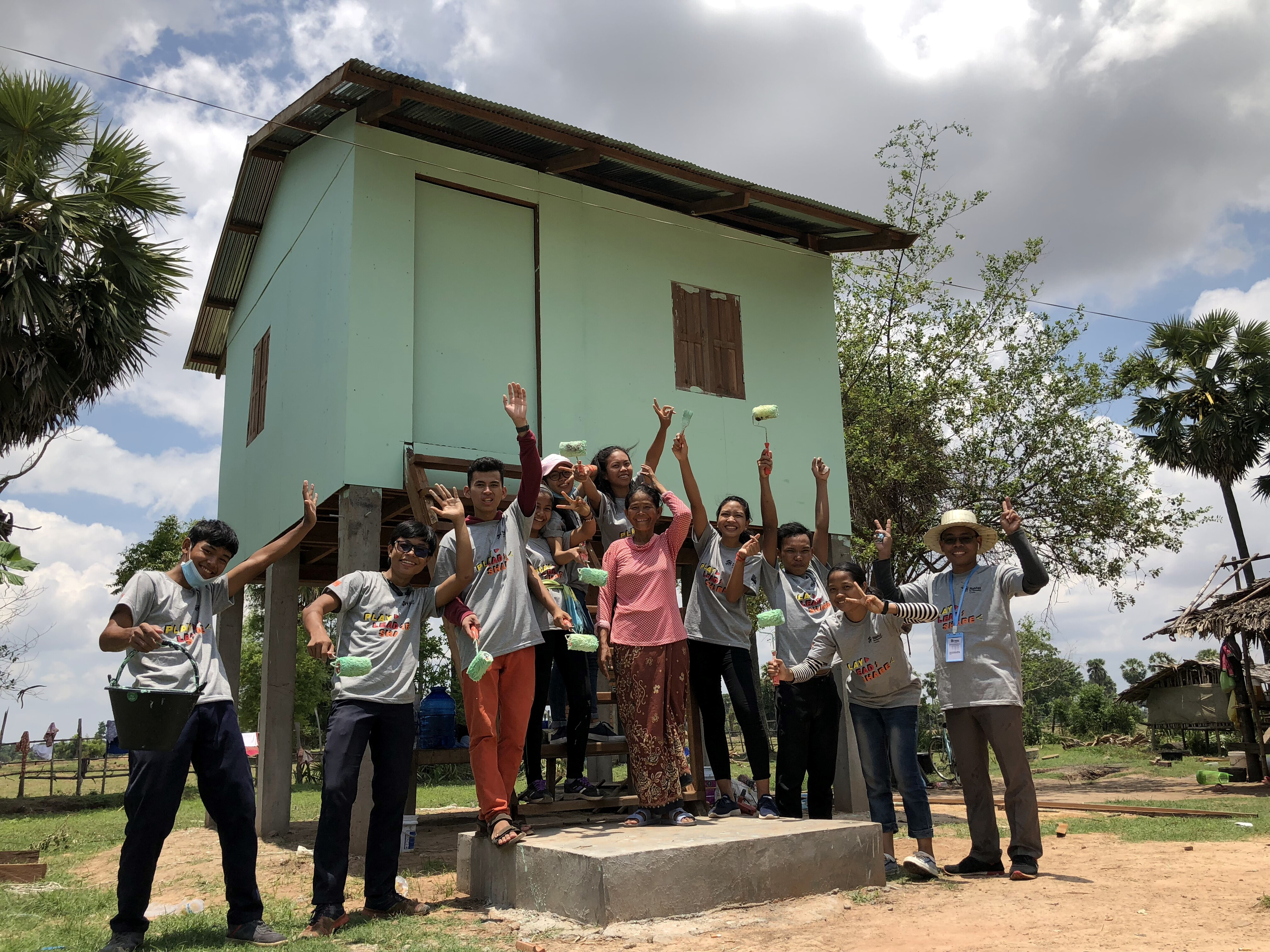 Habitat Young Leaders Build 2019 Kicks Off On International Volunteer Day