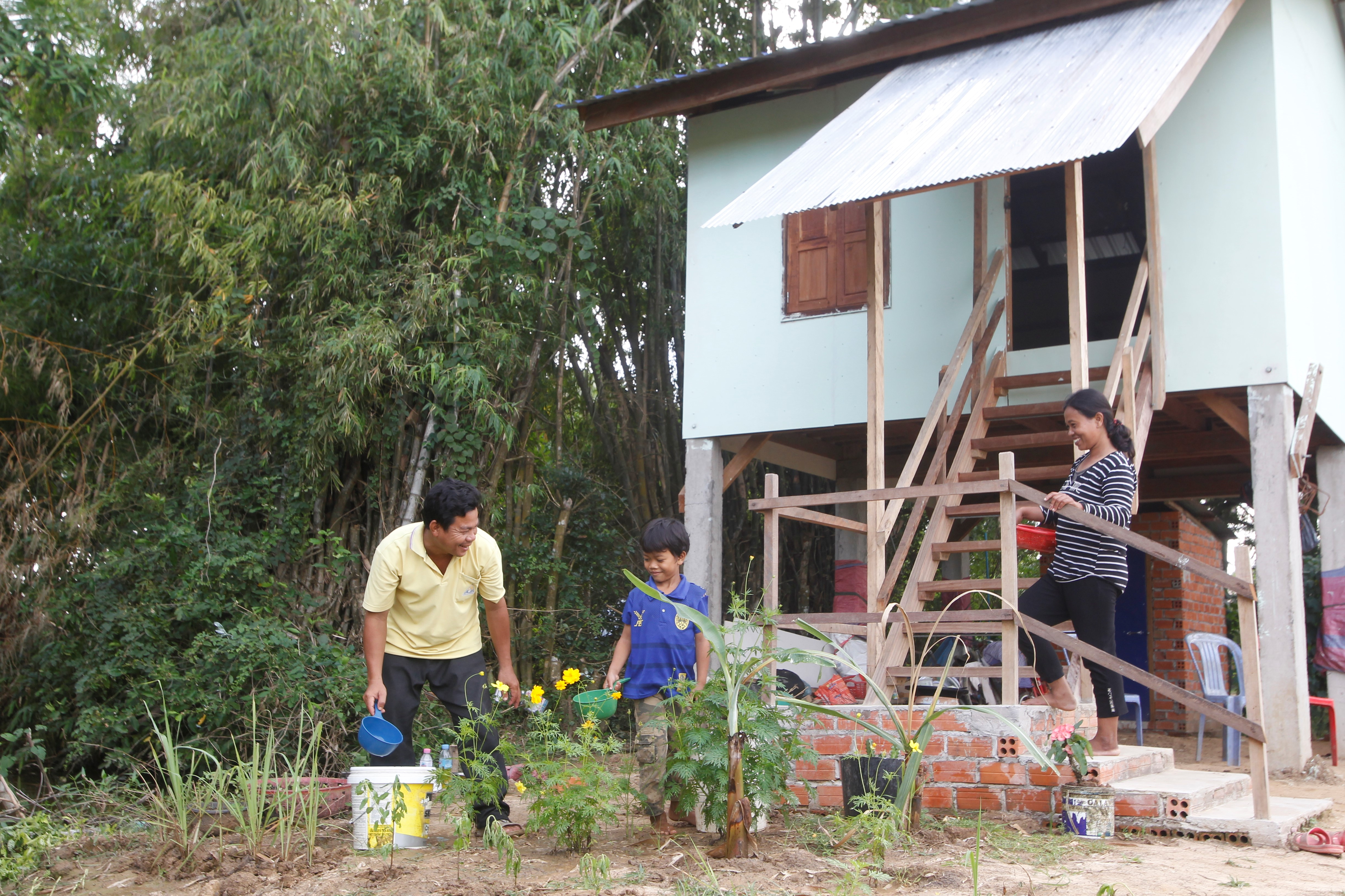 Early Results Of The Resilient Homes And Communities Project